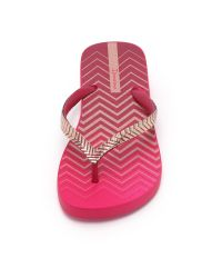 Ipanema - Pink Trends Ix Flip Flops - Lyst