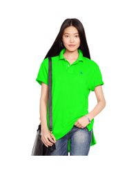 Polo Ralph Lauren | Green Boyfriend Polo Shirt | Lyst