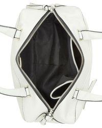 Kensie - Gray Straight Edge Top Handle Bag - Lyst