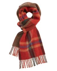 Polo Ralph Lauren | Orange Reversible Plaid Scarf for Men | Lyst