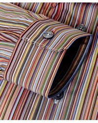 Paul Smith Multicolor Tailored Fit Signature Striped Shirt for men