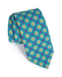 Ted Baker | Blue Geometric Wool Tie for Men | Lyst