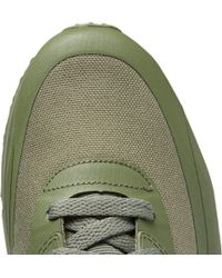 Nike - Green Tz Air Max 90 Canvas And Leather Sneakerboots for Men - Lyst