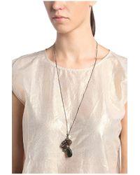 BOSS Orange Gray Long Chain With Pendant: 'midol'