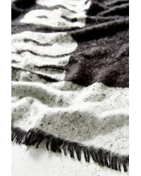 Urban Outfitters - Black No Bad Days Brushed Blanket Scarf - Lyst