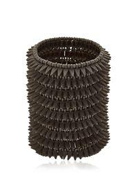 Philippe Audibert - Black Uma Cuff Bracelet - Lyst