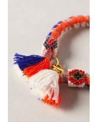 Bluma Project | Orange Wide Maravilla Bracelet | Lyst