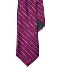 Lauren by Ralph Lauren | Pink Striped Silk Tie for Men | Lyst