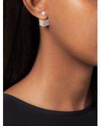 Vita Fede | Metallic Cube Earrings | Lyst