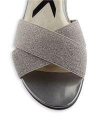 Anne Klein | Metallic Karol D Orsay Sandals | Lyst