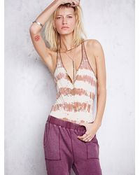 Free People - Orange Ma Bae Jumper - Lyst