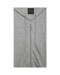 Theory - Gray Enforcer Hoodie In Valuable for Men - Lyst
