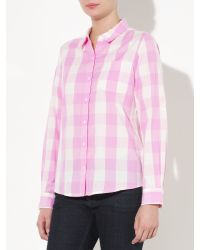 John Lewis Pink Large Check Shirt