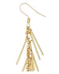 H&M Metallic Long Earrings
