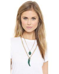 Samantha Wills - Green Enchanted Twilight Necklace - Malachite - Lyst