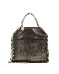 Stella McCartney | Brown Falabella Tiny Tote | Lyst