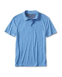 Banana Republic | Blue Vintage Knit Polo for Men | Lyst