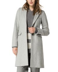 Tommy Hilfiger Gray Thea Coat