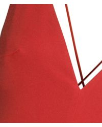 H&M Red Jumpsuit
