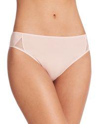 Hanro - Pink Piemont High-cut Brief - Lyst