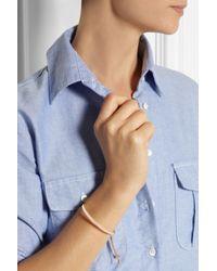 Monica Vinader - Pink Fiji Rose Gold-Plated Bracelet - Lyst