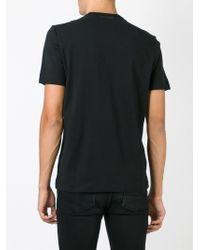 Diesel Black Gold - Black 'tettony' Print T-shirt for Men - Lyst