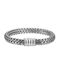 John Hardy - Metallic Bedeg Silver Medium Chain Bracelet - Lyst