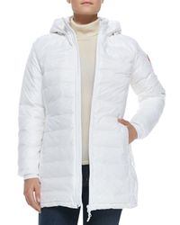 Canada Goose Camp Hooded lila