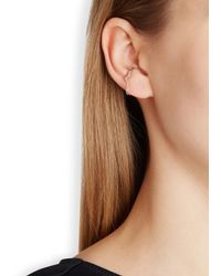 Maria Black | Pink Hero Rose Gold-plated Ear Cuff | Lyst