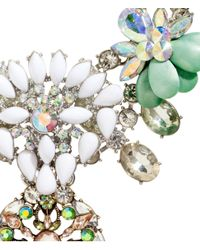 H&M   Metallic Sparkly Necklace   Lyst
