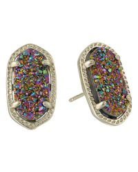 Kendra Scott - Multicolor Kate Earrings - Lyst