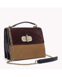 Tommy Hilfiger | Brown Leyla Crossover | Lyst