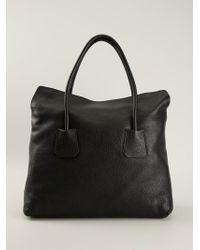 Burberry Black 'Baynard' Tote Bag