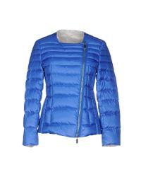 Schumacher - Blue Down Jacket - Lyst