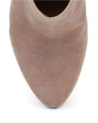 Jessica Simpson - Natural Remixx Suede Ankle Boots - Lyst
