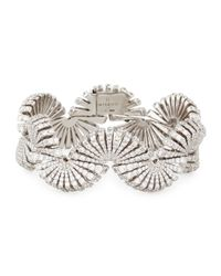 Miseno - Metallic Ventaglio 18k White Gold Diamond Bracelet - Lyst