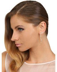Sophie Bille Brahe Metallic Locean Etoile Mono Earring