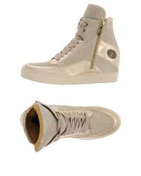 Cesare Paciotti Natural High-tops & Trainers