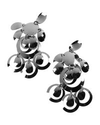 Moschino Metallic Earrings