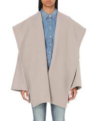 Closed | Gray Toomba Wool-blend Coat | Lyst