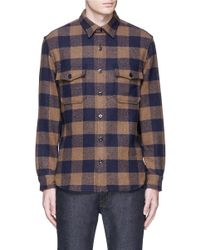 J.Crew | Multicolor Buffalo Check Cpo Shirt-jacket for Men | Lyst