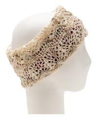 CA4LA - White Knit Hairband - Lyst