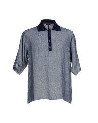 Dolce & Gabbana - Gray Polo Shirt for Men - Lyst