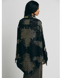 Free People Black Mirror Mirror Kimono