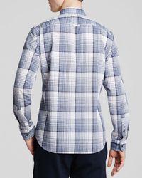 Vince - Blue Clean Melrose Button Down Shirt - Slim Fit for Men - Lyst