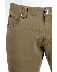 Armani | Green 5 Pocket Trousers In Cotton Twill for Men | Lyst