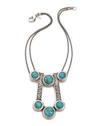 Pamela Love - Blue Comet Necklace - Lyst