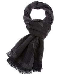 Emporio Armani | Black Scarf for Men | Lyst