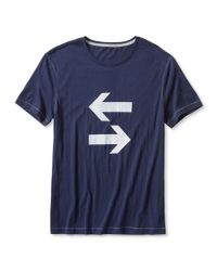 Banana Republic | Blue Arrows Graphic Tee for Men | Lyst