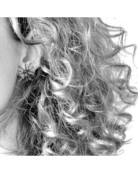 Mikinora | Metallic Jacks Earrings Bronze | Lyst